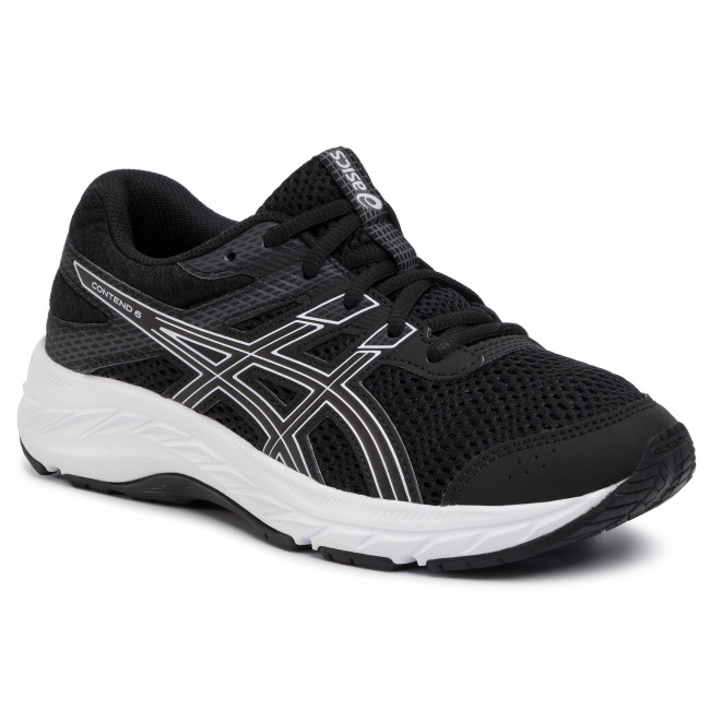 Shoes ASICS - Contend 6 Gs 1014A086 Black/White 001