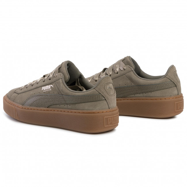 Sneakers PUMA Suede Platform Bubble Wn's 366439 03 Bungee Cord