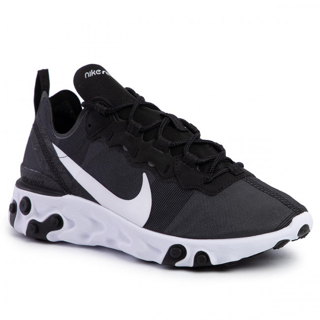 Shoes NIKE - React Element 55 BQ2728 003 Black/White