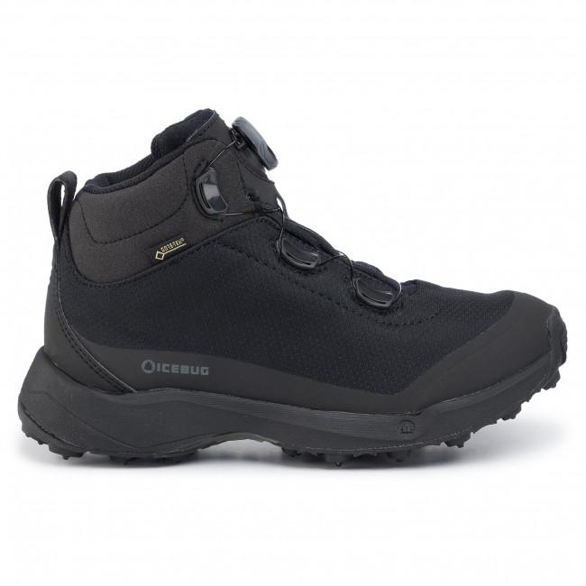 Trekker Boots ICEBUG Detour W Bugrip Gtx GORE TEX F13083 9A Black