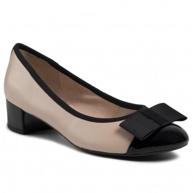 Shoes CAPRICE - 9-22307-24 Beige/Black 415