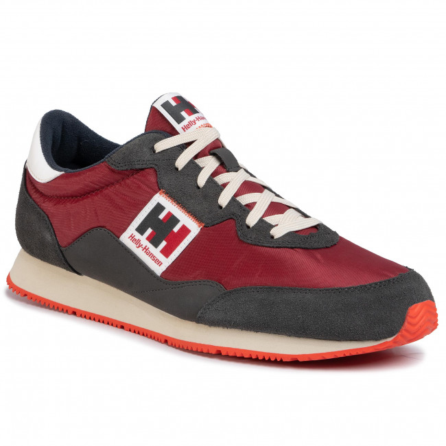 Sneakers HELLY HANSEN Ripples Low Cut Sneaker 114 81.215 OxbloodEbonyOff WhiteCherry Tomato