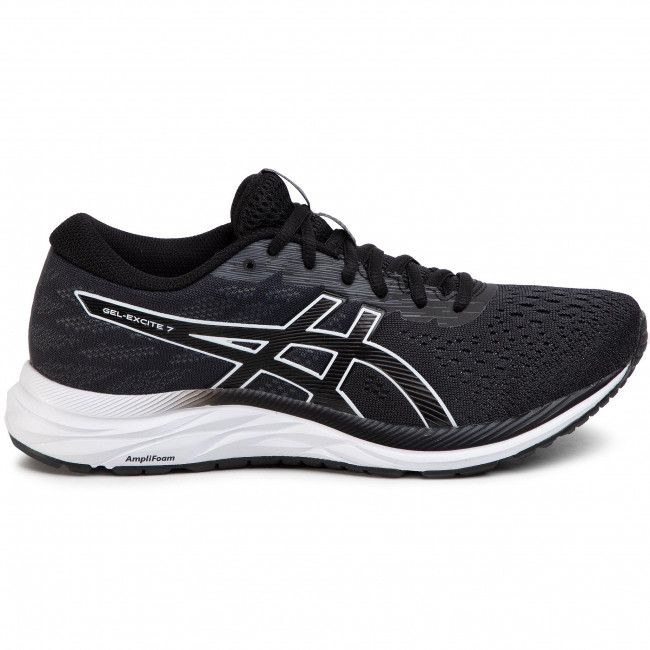 Shoes ASICS Gel Excite 7 1011A657 BlackWhite 001