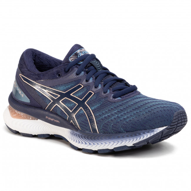 Shoes ASICS Gel Nimbus 22 1012A587 Grey FlossPeacoat 401