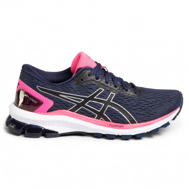 Shoes ASICS Gt 1000 9 1012A651 PeacoatBlack 400