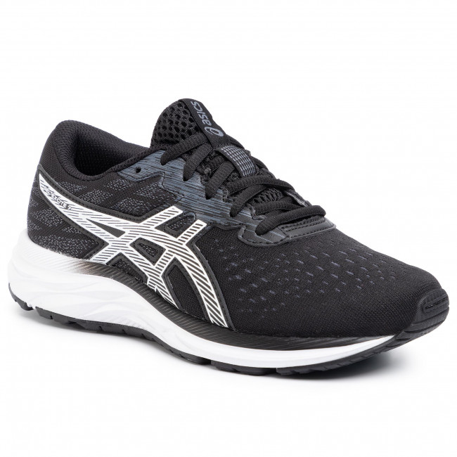 Shoes ASICS - Gel-Excite 7 GS 1014A084 Black/White 001