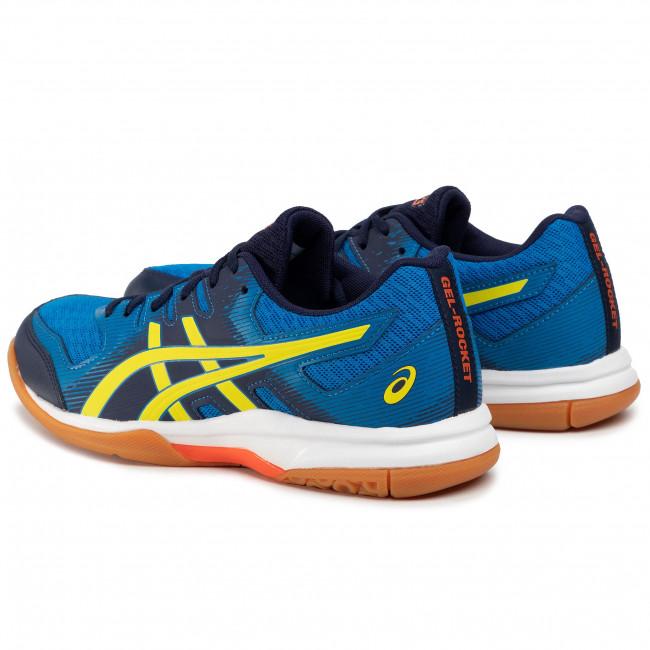 Shoes ASICS Gel Rocket 9 1071A030 Electric BlueSour Yuzu 400