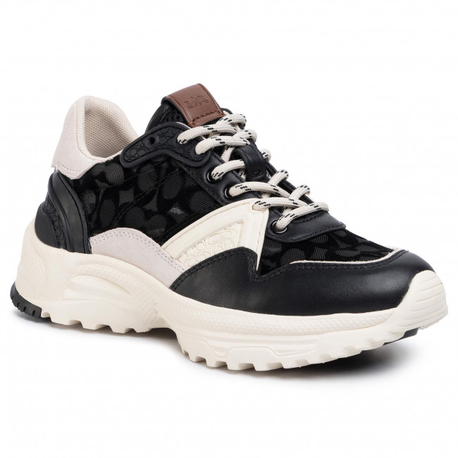 Sneakers COACH - C143 Runner Sig Mesh