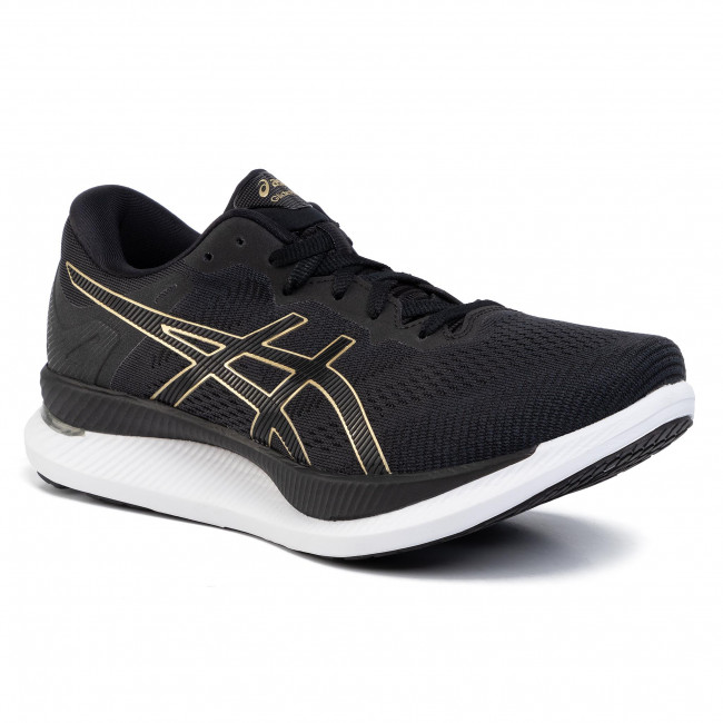 Shoes ASICS - GlideRide 1011A817 Black/Pure Gold 001