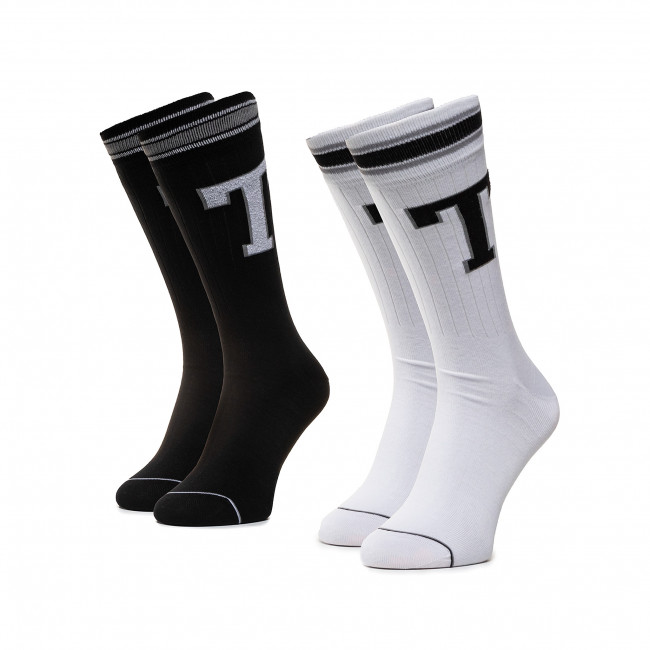 2 Pairs of Men's High Socks TOMMY HILFIGER 472021001 White 300