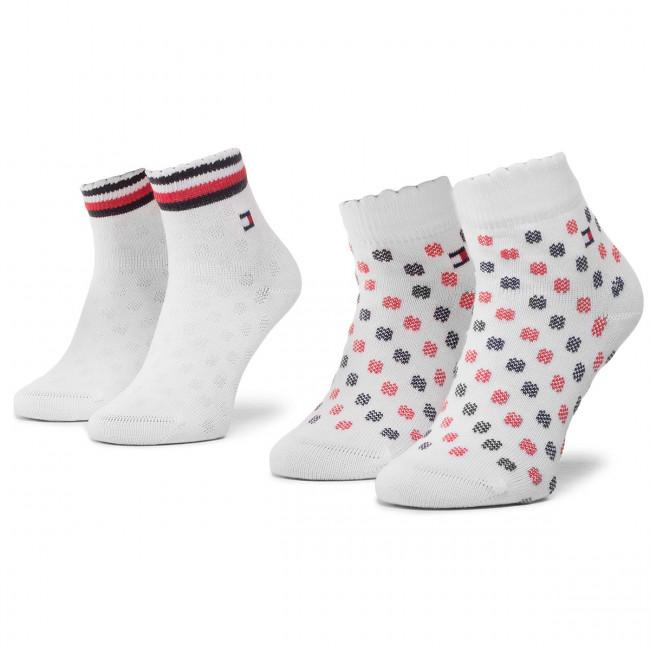 2 Pairs of Kids' High Socks TOMMY HILFIGER 320501001 Tommy Original 023