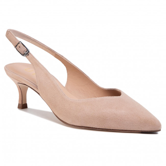 Sandals UNISA - Ibarra Ks Nude Kid Suede