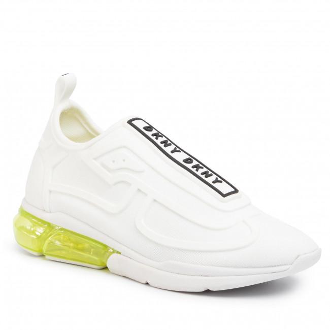 Sneakers DKNY Nilli K4901229 KnitRubber WhtBlack Whb