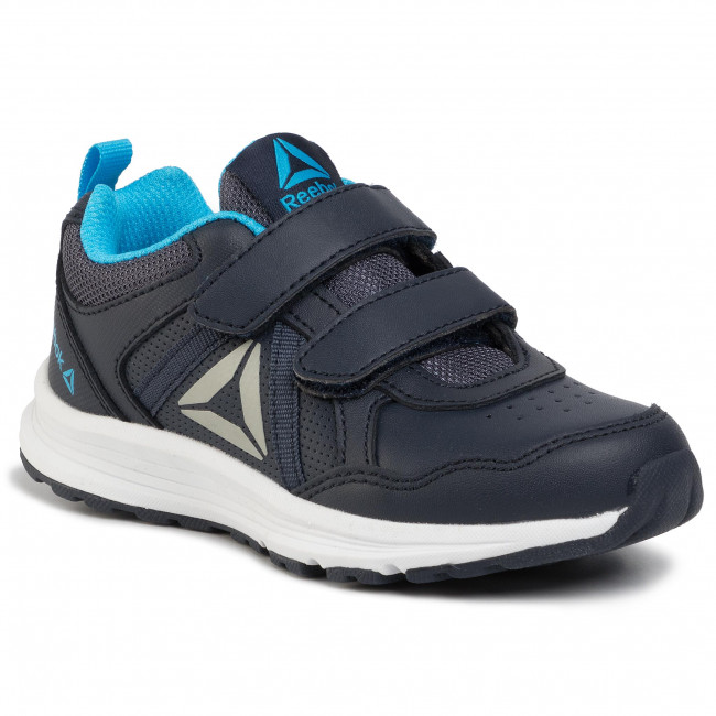 Creación Tanga estrecha Actualizar  Shoes Reebok - Almotio 4.0 Ltr 2V DV8716 Navy/Cyan/Pewter - Velcro - Low  shoes - Boy - Kids' shoes | efootwear.eu