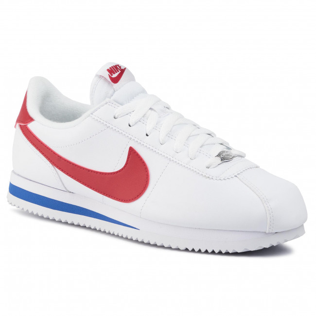 problema Actor castigo  Shoes NIKE - Cortez Basic Leather 819719 103 White/Varsity Red - Sneakers -  Low shoes - Men's shoes | efootwear.eu