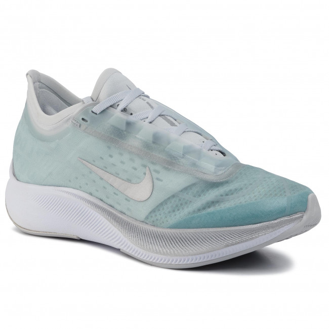 El camarero filosofía Tres  Shoes NIKE - Zoom Fly 3 AT8241 302 Ocean Cube/Metallic Silver - Indoor -  Running shoes - Sports shoes - Women's shoes | efootwear.eu