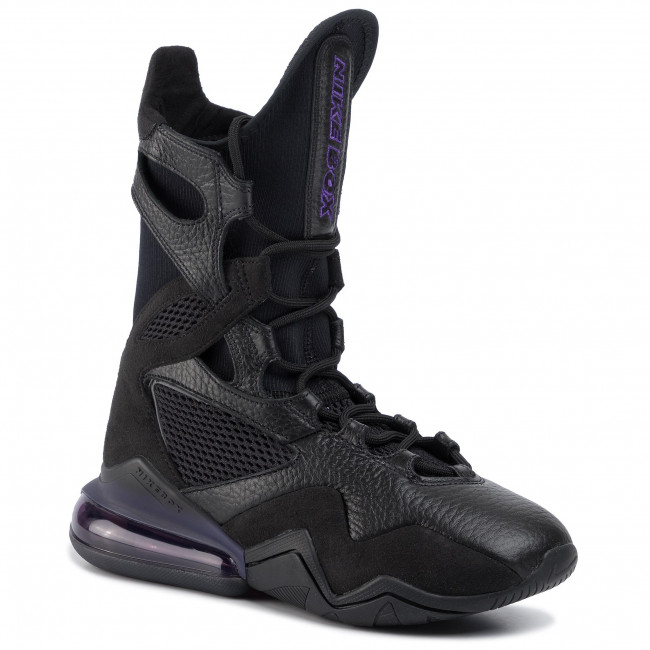 Shoes NIKE , Air Max Box AT9729 005 Black/Black/Grand Purple