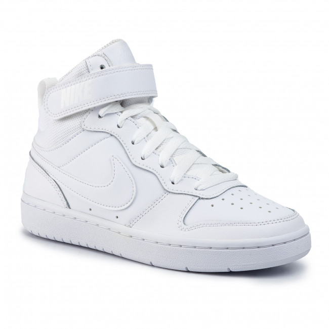 Establish principle Walter Cunningham  Shoes NIKE - Court Borough Mid 2 (Gs) CD7782 100 White/White/White -  Sneakers - Low shoes - Women's shoes | efootwear.eu