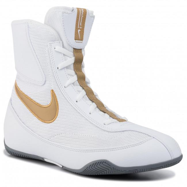 Lujoso Producto Calígrafo  Shoes NIKE - Machomai 321819 170 White/Metallic Gold/Cool Grey - Fitness -  Sports shoes - Men's shoes | efootwear.eu