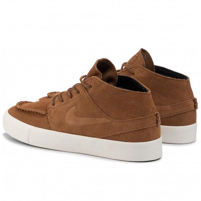 Shoes NIKE Zoom Janoski Mid Rm Crafted AQ7460 201 Lt British TanLt British Tan