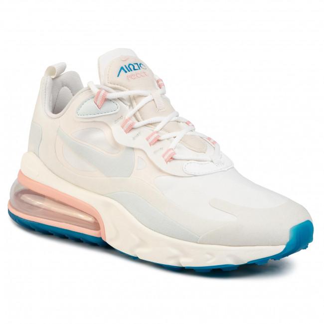 Shoes NIKE Air Max 270 React AO4971 100 Summit WhiteGhost Aqua