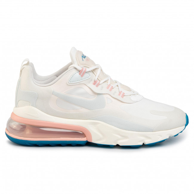 Shoes NIKE Air Max 270 React AO4971 100 Summit WhiteGhost Aqua