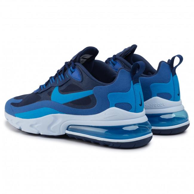 Shoes NIKE Air Max 270 React AO4971 400 Blue VoiPhoto Blue