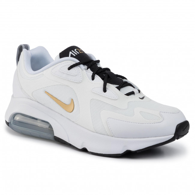 Shoes NIKE Air Max 200 AQ2568 102 WhiteMetallic GoldBlack