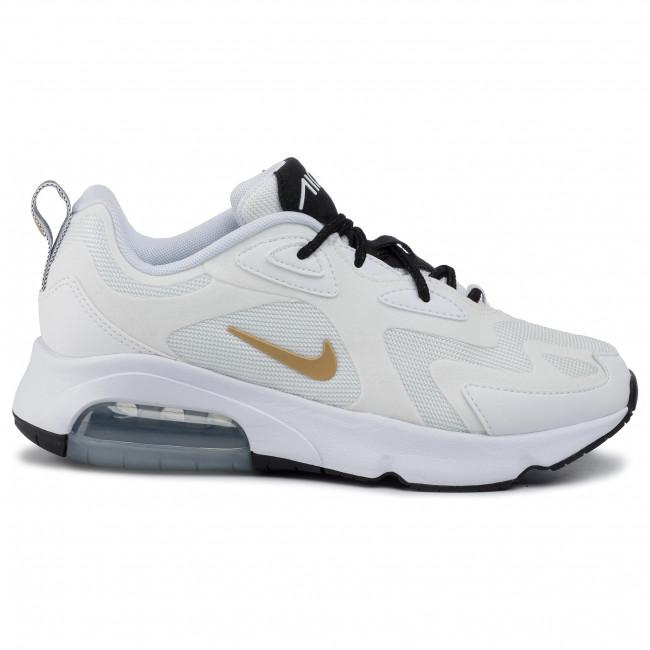Shoes NIKE - Air Max 200 AT6175 102 White/Metallic Gold/Black