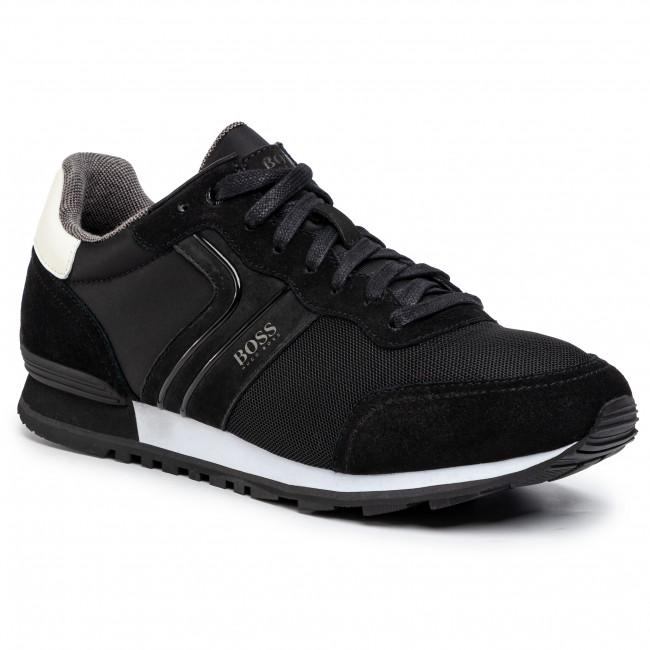 Forma del barco Endulzar Miniatura  Sneakers BOSS - Parkour 50433661 10214574 01 Black 003 - Sneakers - Low  shoes - Men's shoes   efootwear.eu