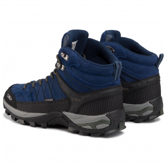 Trekker Boots CMP - Rigel Mid Trekking Shoes Wp 3Q12947 Marine/B.Blue 04MD - Trekker boots - High boots and others - Men's shoes