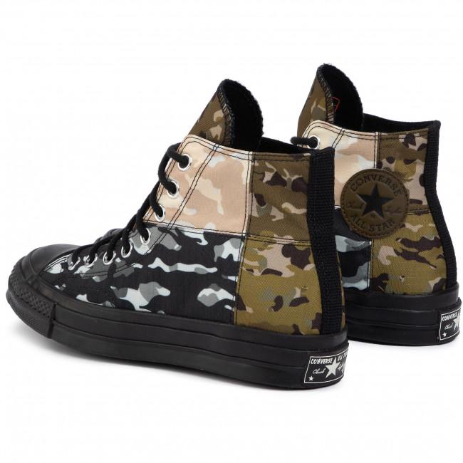 Sneakers CONVERSE Chuck 70 Hi Surplu 165912C Surplus OliveBlac