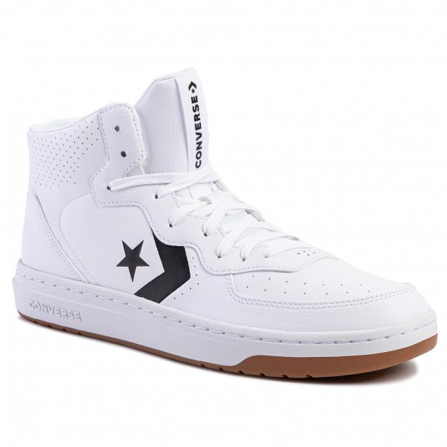 A rayas pureza Más lejano  Sneakers CONVERSE - Rival Mid 164890C White/Black/White - Sneakers - Low  shoes - Men's shoes | efootwear.eu