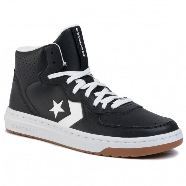 Sneakers CONVERSE Rival Mid 164891C BlackWhiteWhite