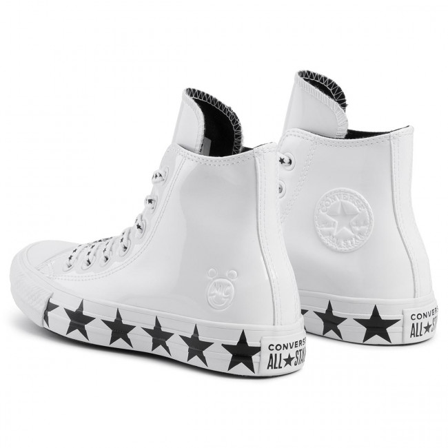 Sneakers CONVERSE Ctas Hi 563719C WhiteBlackWhite