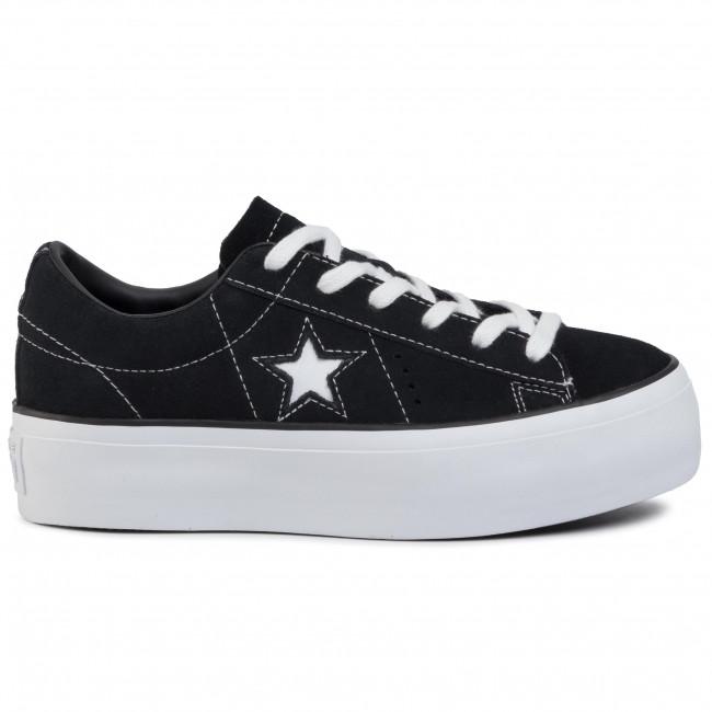 Converse One Star Black Converse Womens One Star Platform