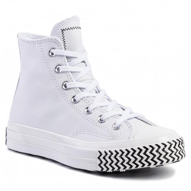 Sneakers CONVERSE Chuck 70 Hi 564970C WhiteWhiteBlack