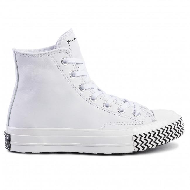 Sneakers CONVERSE Chuck 70 Hi 564970C WhiteWhiteBlackWhite