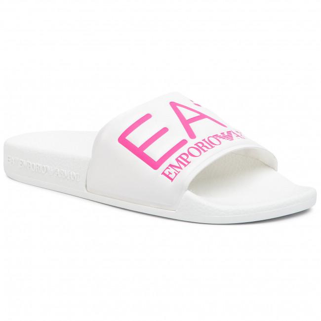Slides EA7 EMPORIO ARMANI - XCP001 XCC22 M499 White/Pink Fluo