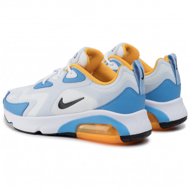Shoes NIKE Air Max 200 AT6175 101 WhiteBlackHalf Blue