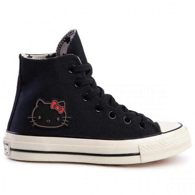 Sneakers CONVERSE Chuck 70 Hi 163902C BlackBlackEgret