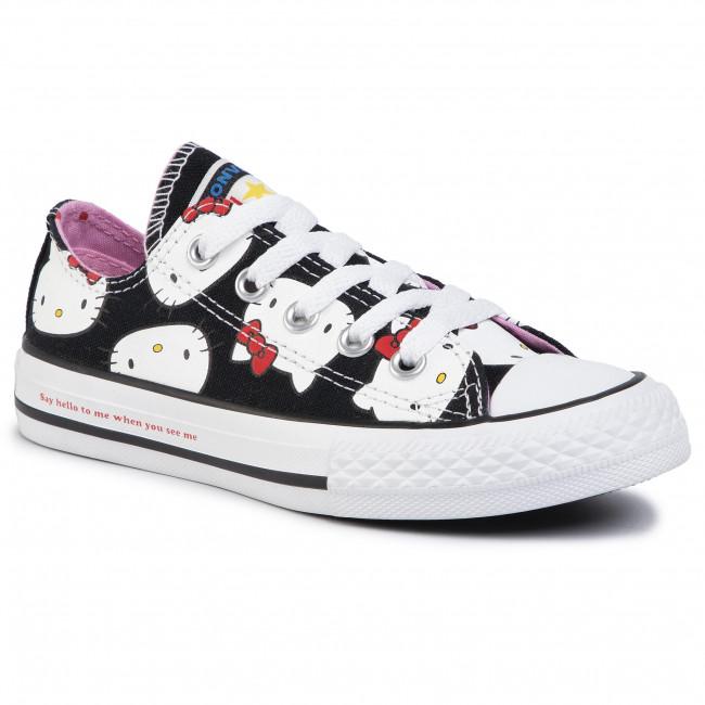Sneakers CONVERSE Ctas Ox 362948C BlackPrism PinkWhite