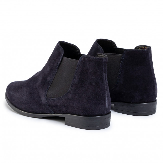 tamaris navy suede ankle boots