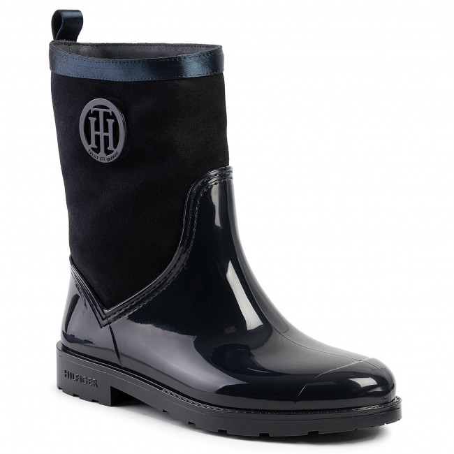 Tommy Hilfiger Warmlined Suede Rain Boots