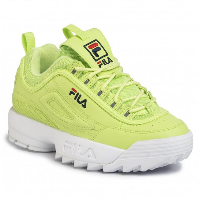 fila green shoes