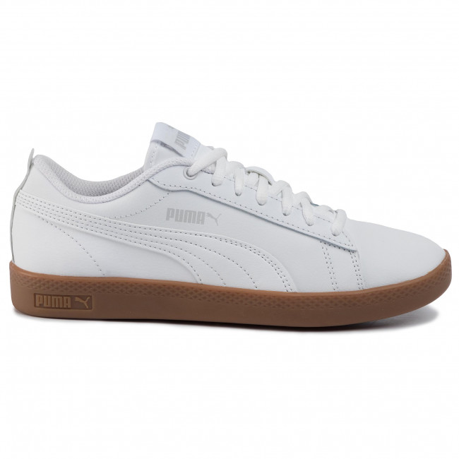 Puma Roma Basic Sneakers PS White Gray Violet Limited Time