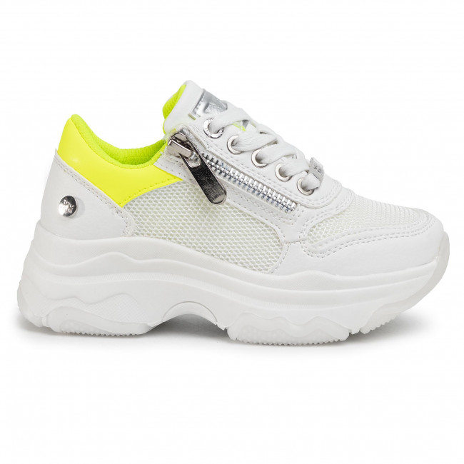 Sneakers XTI - 57129 Yellow - Laced