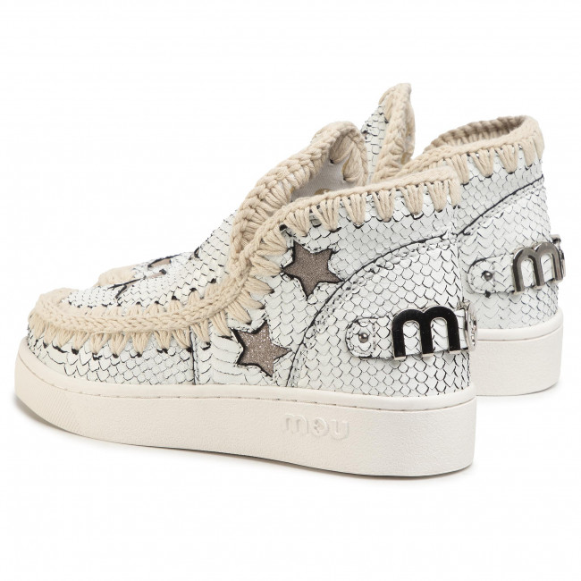 Shoes MOU Summer Eskimo Sneaker With Stars Whibk