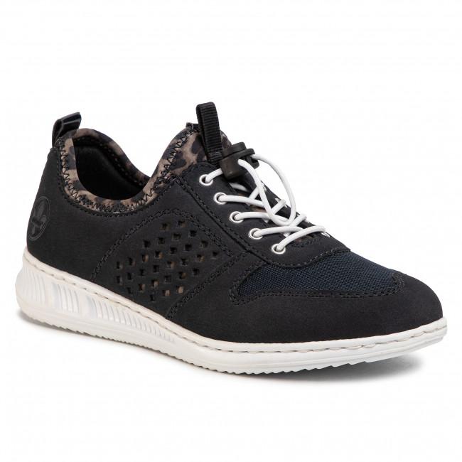 Sneakers RIEKER N3178 14 Blau Sneakers Low shoes am67n