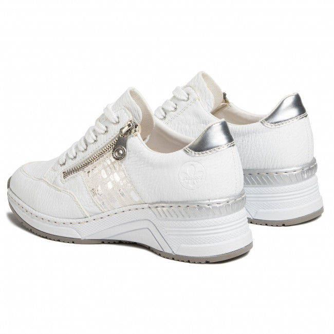 Sneakers RIEKER N4322 80 Weiss Sneakers Low shoes oXpGA